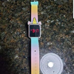 Justice Unicorn Digital Watch